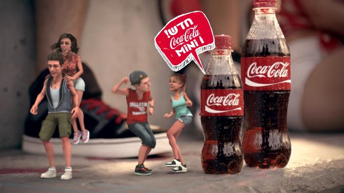 coca cola selling concept